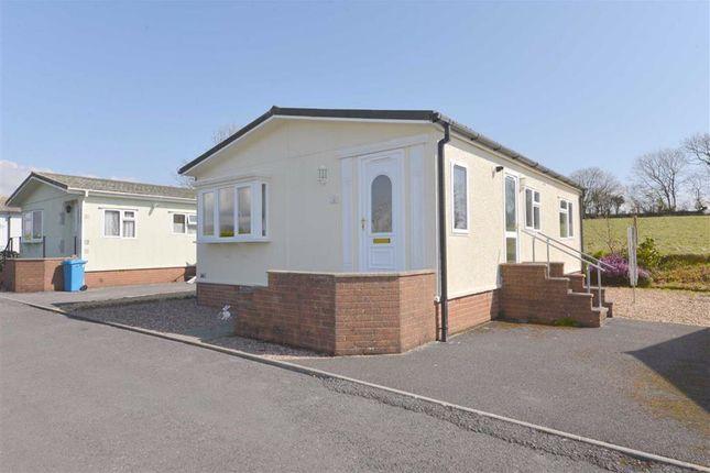 Thumbnail Mobile/park home for sale in 21, Shillingford Park, Kilgetty