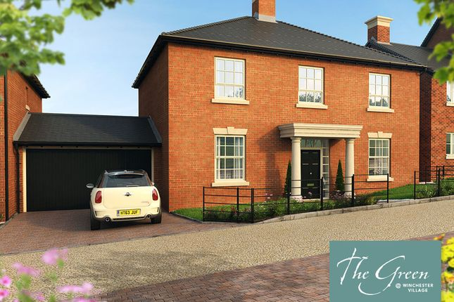 """Thumbnail Detached house for sale in """"The Dashworth @ The Green"""" at Pitt Road, Winchester"""