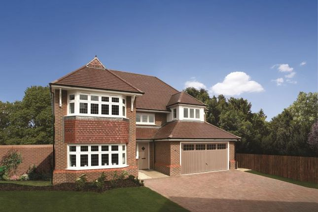 Thumbnail Detached house for sale in Carey Fields, Northampton Lane North, Moulton, Northampton