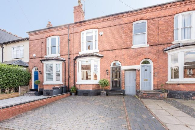 Thumbnail Town house to rent in Greenfield Road, Harborne, Birmingham