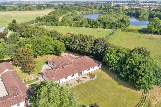 Thumbnail Equestrian property for sale in Station Lane, Kirby Bellars, Melton Mowbray