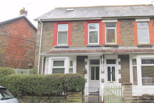 Thumbnail Semi-detached house for sale in Lawn Terrace, Treforest, Pontypridd