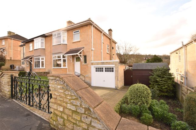 Thumbnail Semi-detached house for sale in Hensley Road, Bath, Somerset