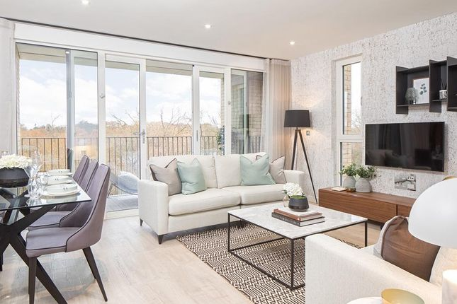 """Thumbnail 1 bedroom flat for sale in """"Eider Apartments"""" at Meadowlark House Moorhen Drive, Hendon, London"""