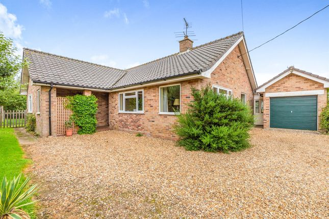 Thumbnail Detached bungalow for sale in Holt Road, Field Dalling, Holt
