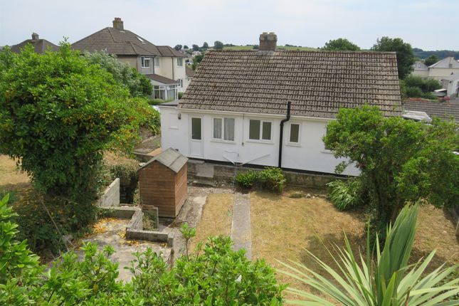Thumbnail Detached bungalow for sale in Rockville Park, Plymstock, Plymouth