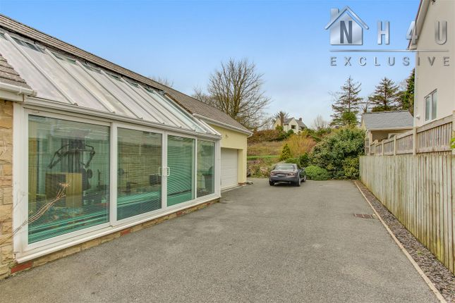 Conservatory: of Cilcain Road, Pantymwyn, Mold CH7