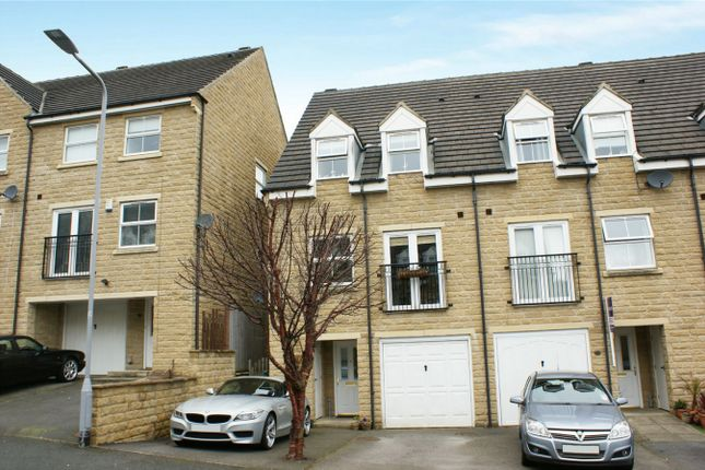 Thumbnail End terrace house for sale in Oberon Way, Cottingley, Bingley, West Yorkshire