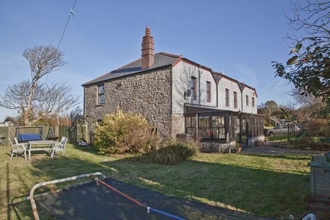 Thumbnail Detached house for sale in Croft Mitchell, Troon, Camborne