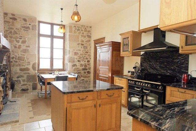 Kitchen of Confolens, Poitou-Charentes, France