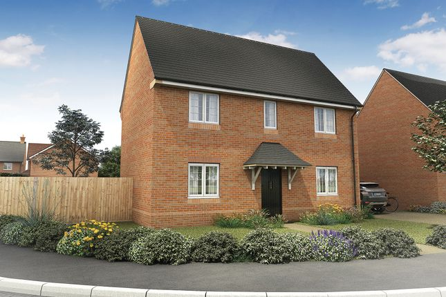 "Thumbnail Detached house for sale in ""The Trelissick"" at Roman Road, Bobblestock, Hereford"