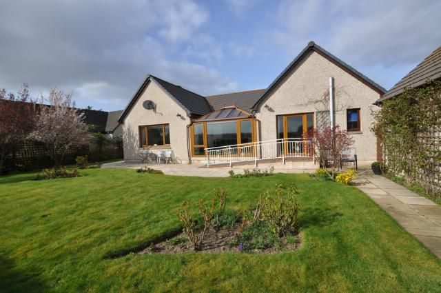 Thumbnail Bungalow for sale in Genista Broom Of Moy, Forres
