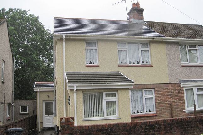Thumbnail Semi-detached house to rent in Glantwrch, Ystalyfera, Swansea.