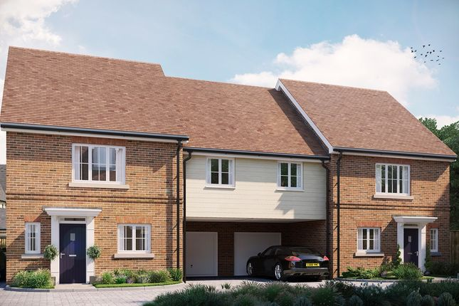 Thumbnail Semi-detached house for sale in The Sherford At Eastwood, Gardiners Park Village, Basildon