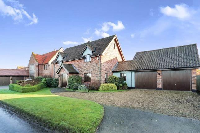 Thumbnail Detached house for sale in Great Ellingham, Norwich, Norfolk