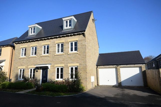 Thumbnail Detached house for sale in Larkin Close, Bovey Tracey, Newton Abbot, Devon