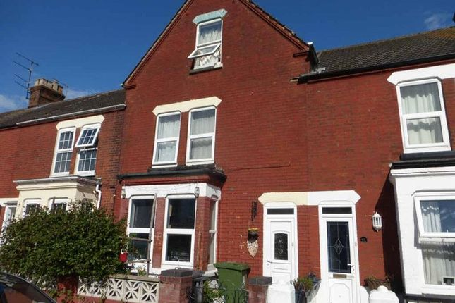 Thumbnail Terraced house for sale in Churchill Road, Great Yarmouth