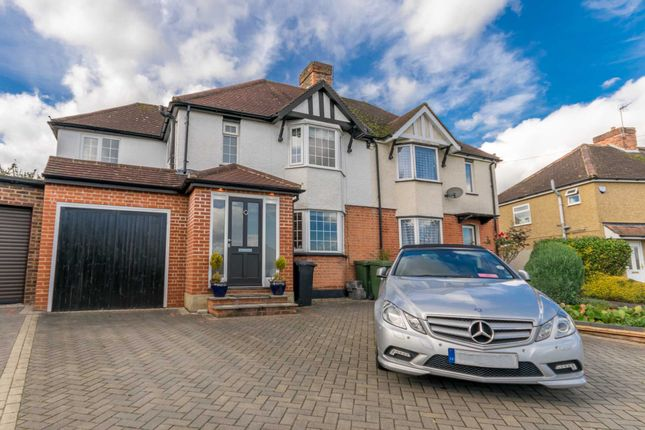 Thumbnail Semi-detached house for sale in Garston Crescent, Watford