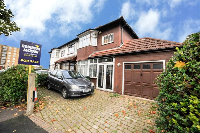 Thumbnail End terrace house for sale in Commonwealth Way, Abbey Wood, London