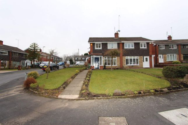 Thumbnail Semi-detached house for sale in Newark Park Way, Royton, Oldham