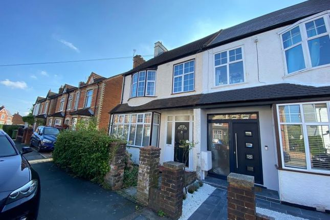 Thumbnail Semi-detached house to rent in Highclere Road, Knaphill, Woking