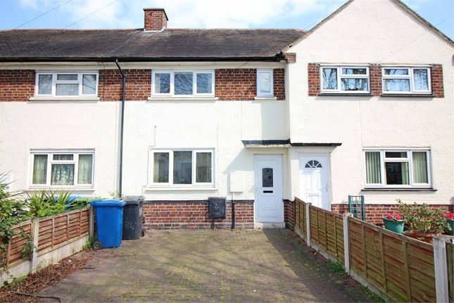 Thumbnail Town house to rent in Manor Road, Bolehall, Tamworth, Staffordshire
