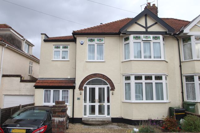 Thumbnail Semi-detached house for sale in West Broadway, Henleaze, Bristol