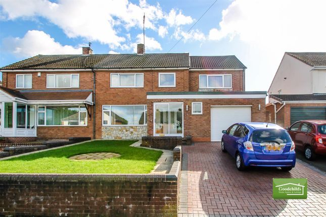 Thumbnail Semi-detached house for sale in Simmonds Way, Shire Oak