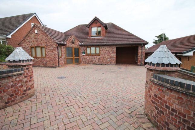 Thumbnail Detached bungalow to rent in Lime Grove, Forest Town, Mansfield
