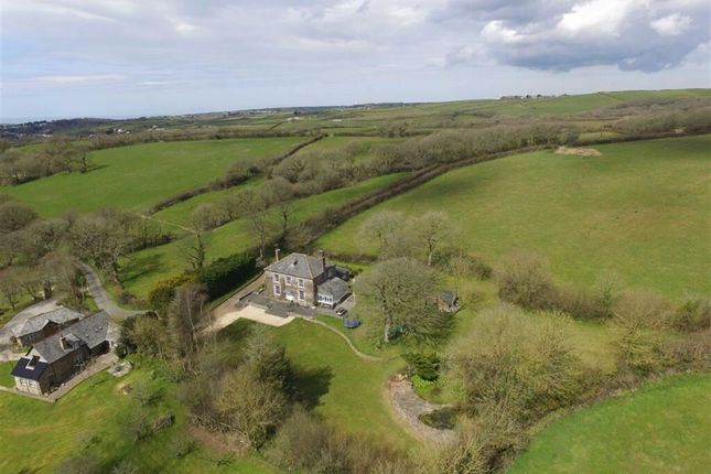 Thumbnail Detached house for sale in Launcells, Bude, Cornwall