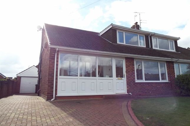 Thumbnail Semi-detached bungalow to rent in Vernon Road, Greenmount, Greater Manchester