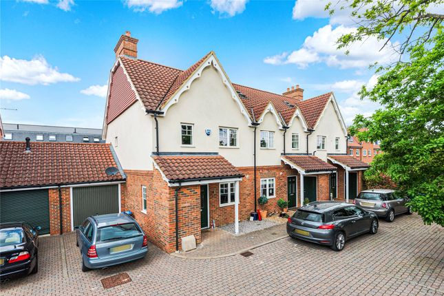 Thumbnail End terrace house for sale in Ottershaw, Chertsey