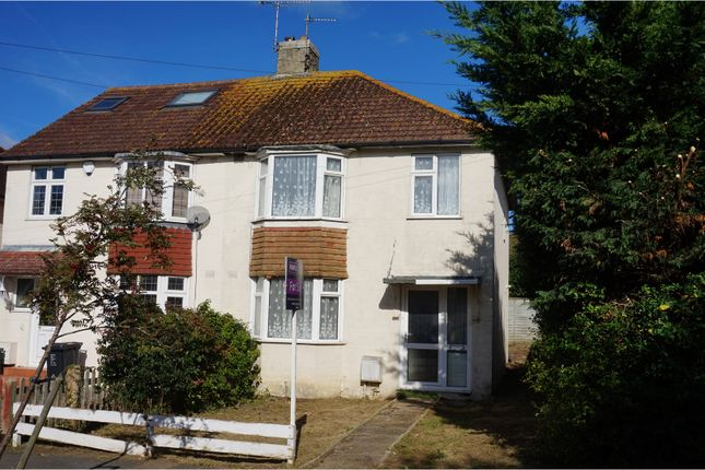 3 bed semi-detached house for sale in Mackie Avenue, Brighton