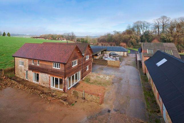 Thumbnail Farmhouse for sale in Chart Lane, Nr. Westerham