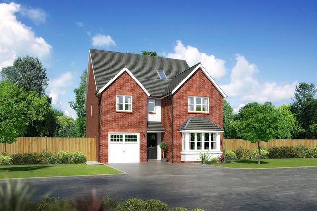 "Thumbnail Detached house for sale in ""Merrington"" at Close Lane, Alsager, Stoke-On-Trent"