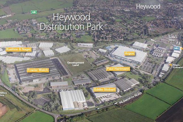 Thumbnail Light industrial to let in M5, Bay A, Heywood Distribution Park, Parklands, Heywood, Greater Manchester