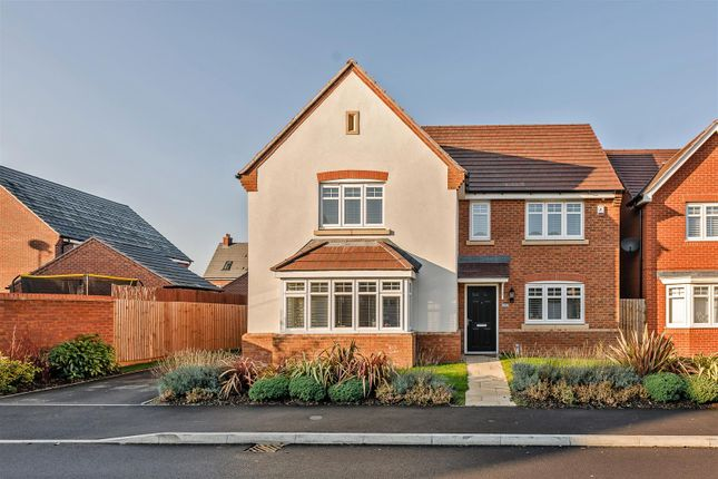 Thumbnail Detached house for sale in Thomas Hardy Way, Warwick, Warwickshire