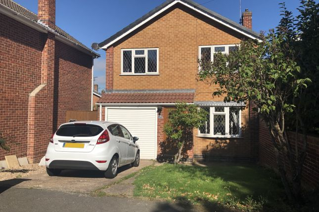Thumbnail Detached house to rent in Stoddard Drive, Heanor