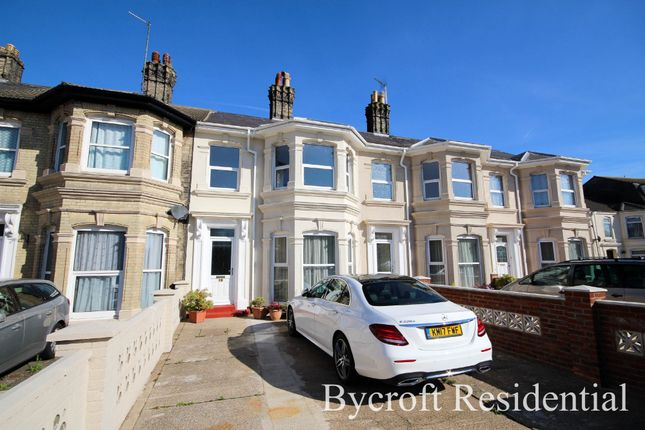 Thumbnail Terraced house for sale in Crown Road, Great Yarmouth