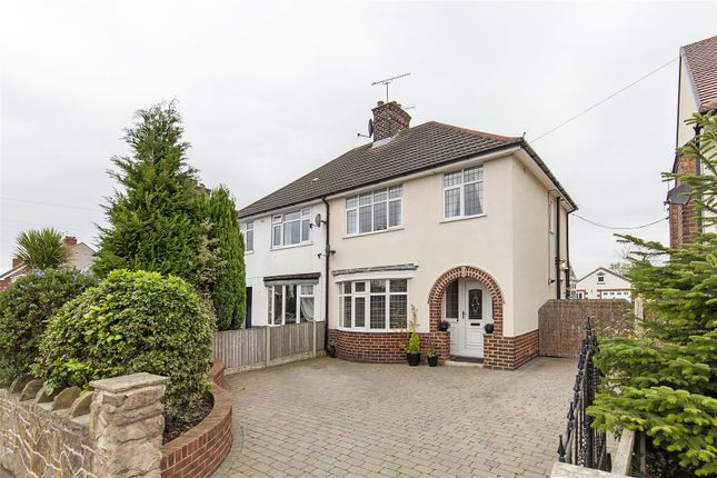 Semi-detached house for sale in Manor Road, Brimington, Chesterfield
