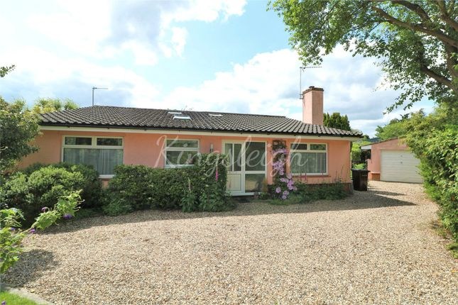 Thumbnail Detached bungalow for sale in Mill Lane, Bradfield, Manningtree, Essex