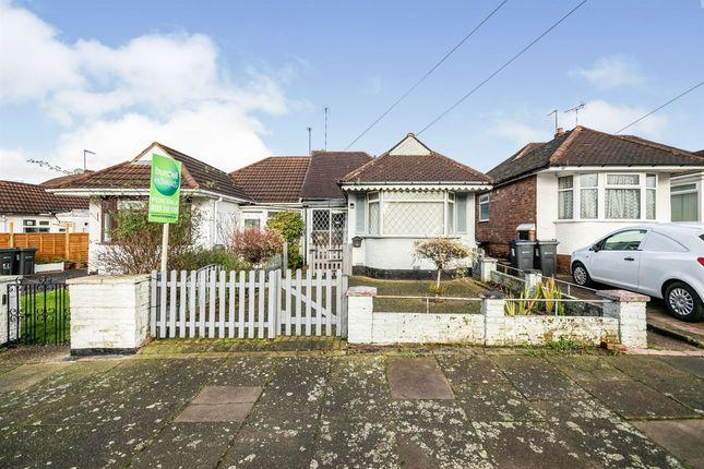 2 bed semi-detached bungalow for sale in Boyne Road, Sheldon, Birmingham B26
