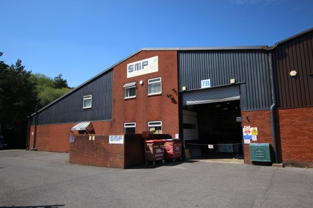 Thumbnail Industrial to let in Woolmer Way, Whitehill, Bordon