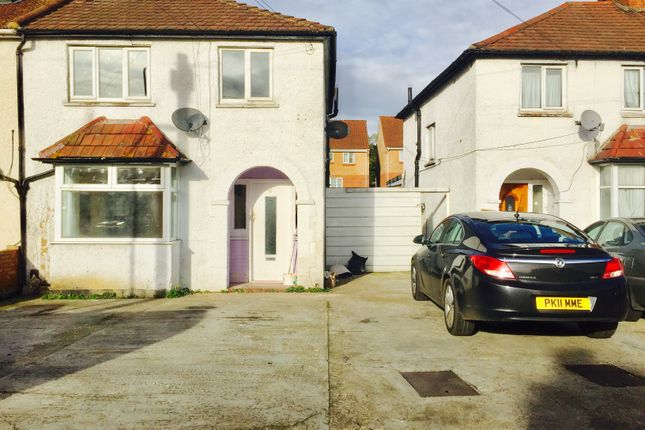 Thumbnail End terrace house to rent in Seymour Road, Slough
