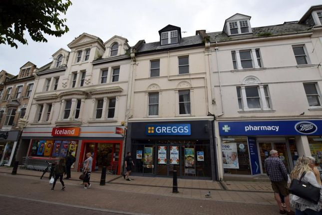 Thumbnail Maisonette to rent in Victoria Street, Paignton, Devon