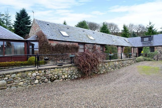 Thumbnail Semi-detached house for sale in The Granary, East Kinwhirrie, Cortachy, Kirriemuir