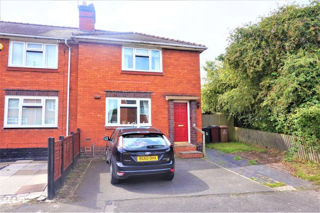Thumbnail Semi-detached house for sale in Berry Avenue, Wednesbury