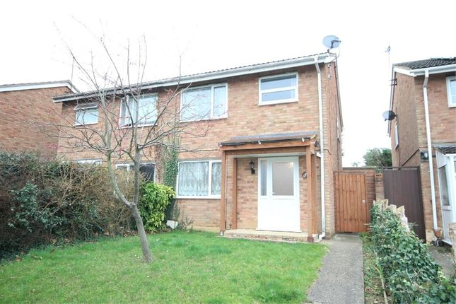 Thumbnail Semi-detached house to rent in Roche Way, Wellingborough, Northamptonshire