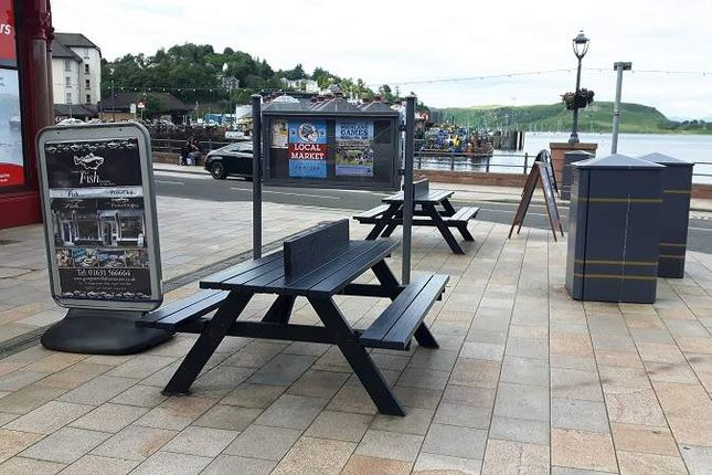 Commercial property for sale in Albany Terrace, George Street, Oban