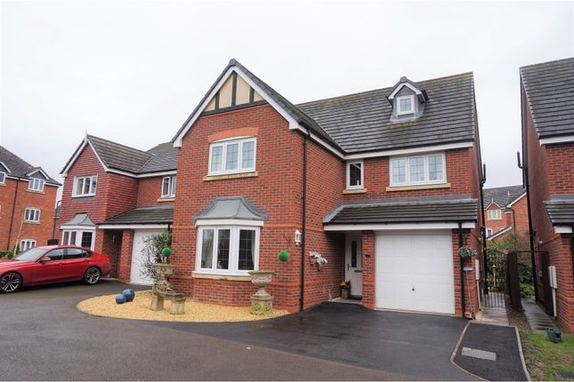 Thumbnail Detached house for sale in Drake Close, Shrewsbury